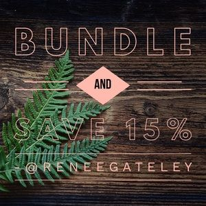 Bundle 2+ Items and Save 15%!